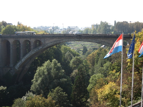 Vue du Luxembourg
