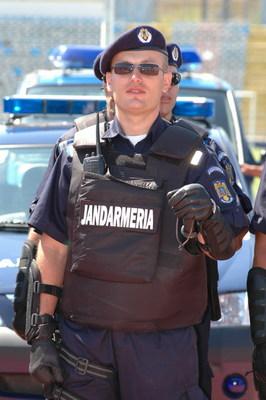 Gendarme roumain