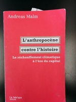 Anthropocène contre l