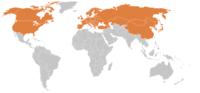 Pays touchés par la maladie de Lyme