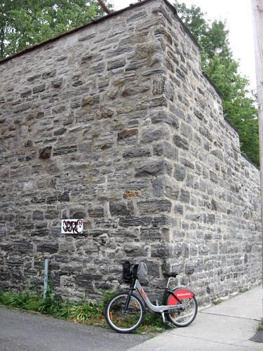 Mur du Carmel de Montréal