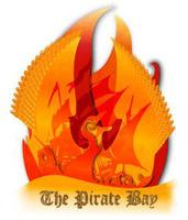 Logo de The Pirate Bay à l'intérieur d'un phénix