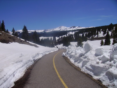 Piste cyclable de Vail Pass