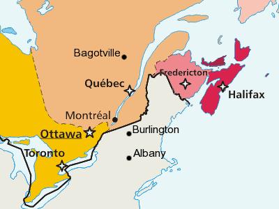 L'effet du climat sur les routes du Québec